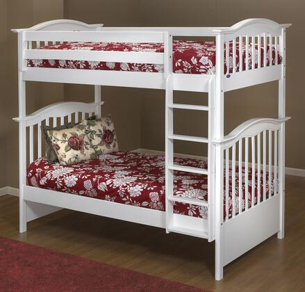 Orbelle BB480W  Twin Size Bunk Bed
