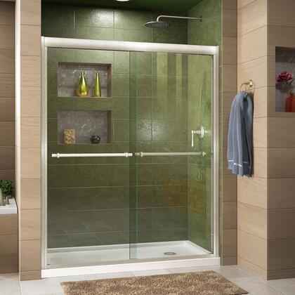 Duet Shower Door RS43 BN Right Drain