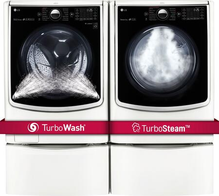 LG 719149 TurboWash Washer and Dryer Combos