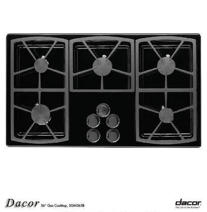 Dacor SGM365BLP Liquid Propane Cooktop