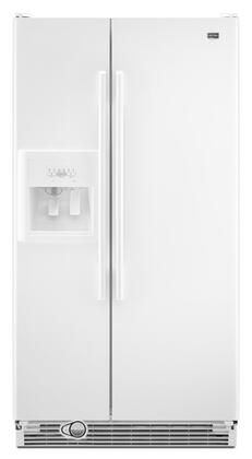 Maytag MSF22C2EXW Freestanding Side by Side Refrigerator |Appliances Connection