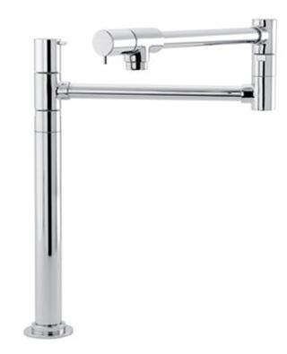 Hansgrohe 4058 Double Handle Deck Mounted Potfiller with Metal Lever Handles from the Talis S Series: