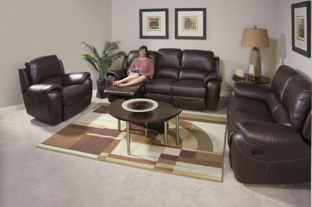 Novo Home 80053RRP Berkley Series Reclining Leather Sofa