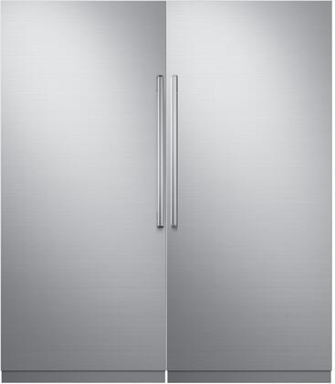 Dacor 742763 Modernist Side-By-Side Refrigerators