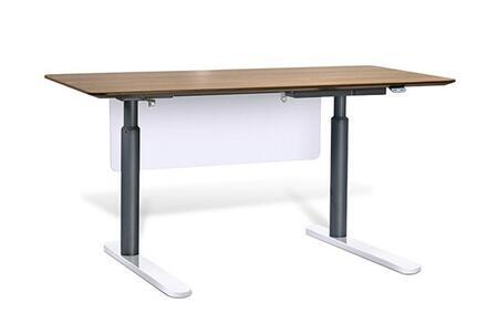 "Unique Furniture 7302XXX Height Adjustable Sit Stand Desk 71"""
