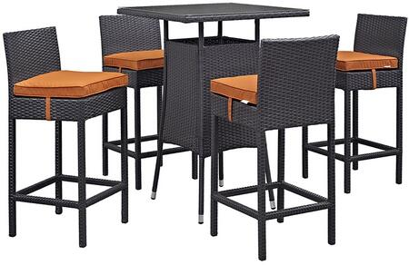 Modway EEI1963EXPORASET Square Shape Patio Sets