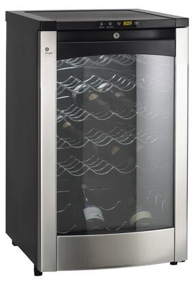 Ge Pwr04fanbs 20 13 Inch Freestanding Wine Cooler In