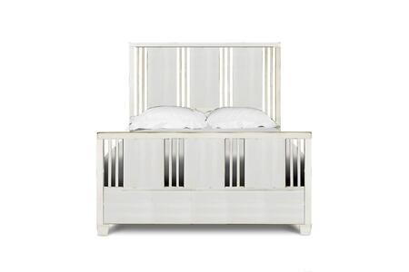 Magnussen Y200654K2 Hadley Series Childrens Twin Size Panel Bed with Trundle Bed
