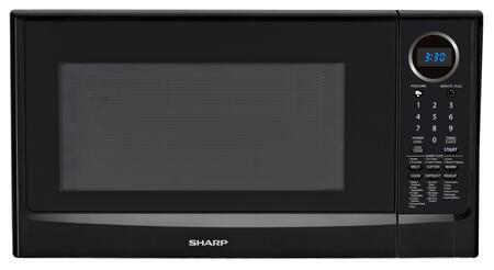 Sharp R403TKC Countertop Microwave, in Black