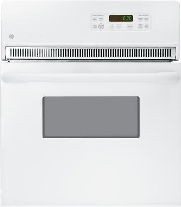 "GE JRP20x 24"" Built-In Single Wall Oven with 2.7 cu. ft. Capacity, 2 Oven Racks, Timer, Self Clean, and Sabbath Mode, in"