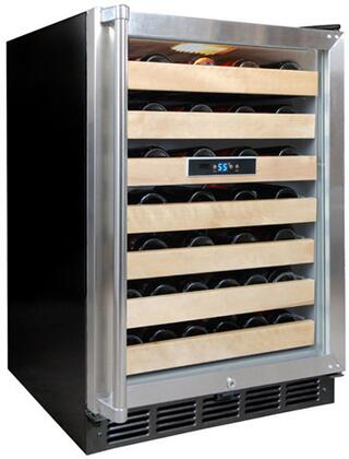"Vinotemp VT50SBW 24"" Freestanding Wine Cooler"