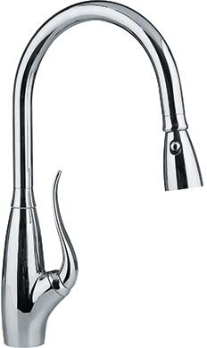 Franke FF24 Ribera Series Pull-Out Spray Faucet in