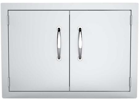 Sunstone ADD Flush Mount Horizontal Double Access Door with Vent in Stainless Steel