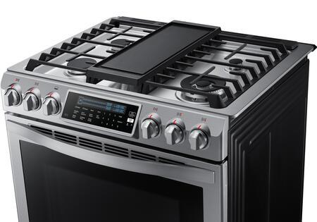 Samsung Nx58h9950ws 30 Inch Chef Series Slide In Gas Range