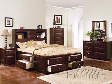 Acme Furniture 04085VF Manhattan Series  Storage Bed
