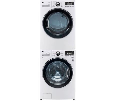 LG 342251 TurboWash Washer and Dryer Combos