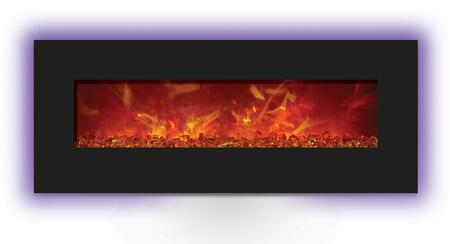 Amantii WMBI485823 Enhanced Series Wall Mountable Electric Fireplace