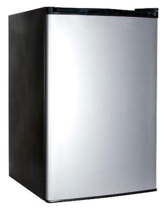 Haier HNSE045VS  Freestanding Compact Refrigerator with 4.5 cu. ft. Capacity,  Field Reversible Doors
