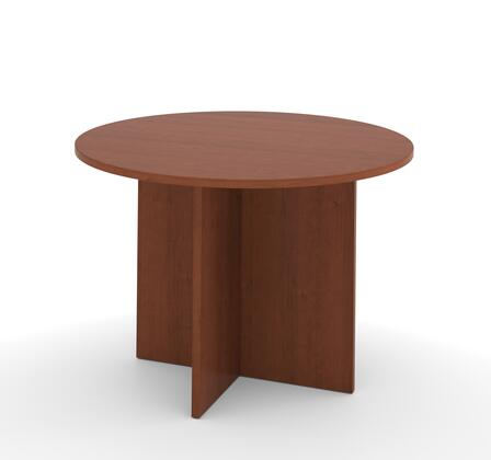 "Bestar Furniture 65770 BESTAR 42"" round meeting table with 1"" melamine top"