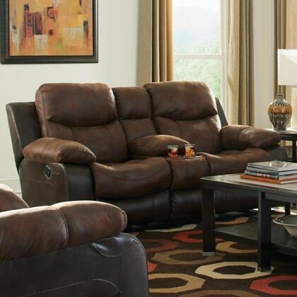 Catnapper 64359115279130079 Henderson Series Fabric Reclining with Metal Frame Loveseat