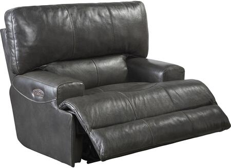 Catnapper 7645807128328308328 Wembley Series Contemporary Leather Metal Frame  Recliners