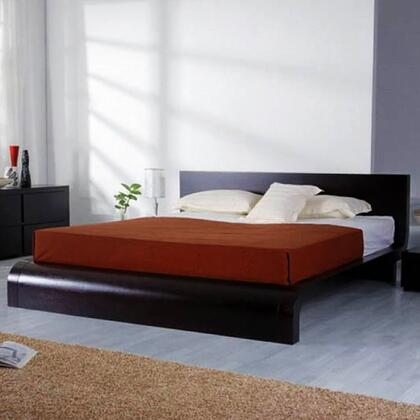 VIG Furniture CURVEBEDK  King Size Platform Bed
