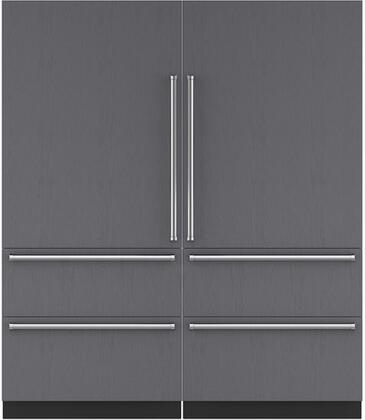 Sub-Zero 710384 Side-By-Side Refrigerators