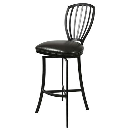 Pastel Furniture QLTZ2193 Tropez 26 in. Counter Height Swivel Barstool