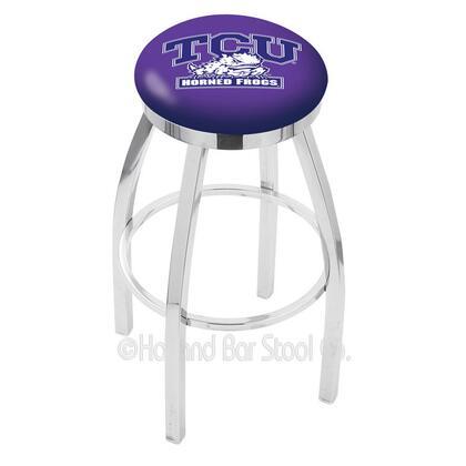 Holland Bar Stool L8C2C25TEXCHR Residential Vinyl Upholstered Bar Stool