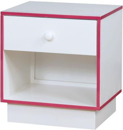 Furniture of America CM7852PKN Bobbi Series  Night Stand