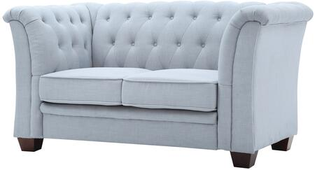 Glory Furniture G321L Suede Stationary Loveseat