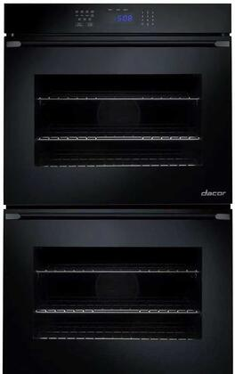 Dacor RNO227Px Double Wall Oven with 4.5 cu. ft. Capaity, Electronic Control Panel, RapidHeat, Hidden Back Element, GlideRacks, Dehydrate and Proof, in