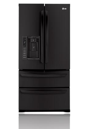 LG LMX25988SB  French Door Refrigerator with 24.7 cu. ft. Capacity in Black
