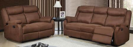 Global Furniture USA U8303MFCHOCORSLG Living Room Sets