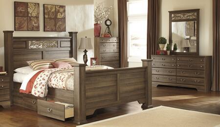 Milo Italia BR311QPSBDM Krueger Bedroom Sets