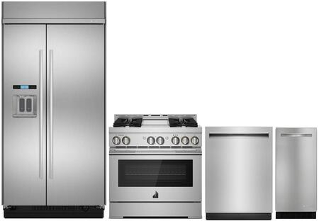 Jenn-Air 989113 4 piece Stainless Steel Kitchen Appliances Package