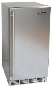 Perlick HP15RO1RDNU  Freestanding Counter Depth Compact Refrigerator with 2 Wire ShelvesField Reversible Doors