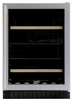 "Marvel 6BARMBSGL 23.875"" Built In Wine Cooler 