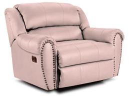 Lane Furniture 21414174597528 Summerlin Series Transitional Leather Wood Frame  Recliners