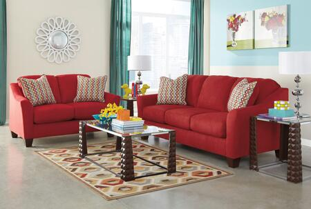 Signature design by ashley 95801sl3tr2l hannin living room for Living room furniture 0 finance
