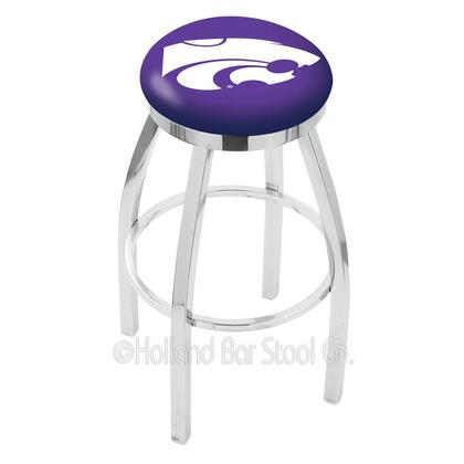 Holland Bar Stool L8C2C25KNSASS Residential Vinyl Upholstered Bar Stool