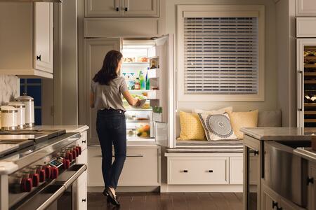 Sub Zero Bi42ufdo 42 Inch Counter Depth French Door Refrigerator