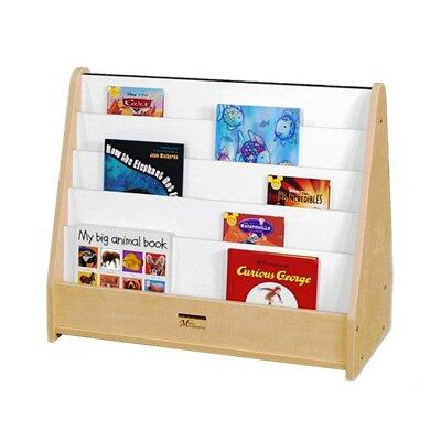 Mahar M51025YL Childrens  Wood Magazine Rack