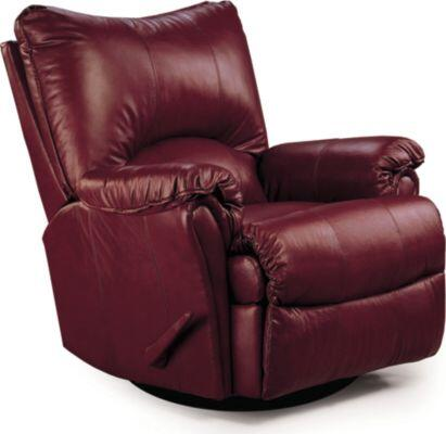 Lane Furniture 135327542717 Alpine Series Transitional Leather Wood Frame  Recliners