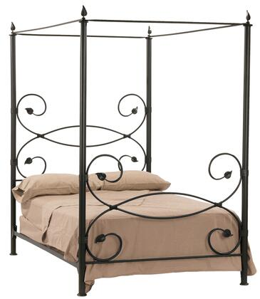 Stone County Ironworks 900733  Queen Size Canopy Complete Bed
