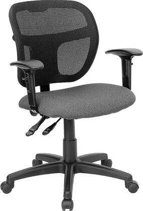 """Flash Furniture WLA7671SYGGYAGG 25.25"""" Contemporary Office Chair"""