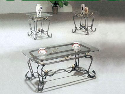 Acme Furniture 08222 Traditional Living Room Table Set
