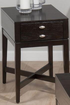 Jofran 9347 Transitional Rectangular 1 Drawers End Table