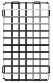 Franke CQ29-31 Stainless Steel Shelf Grid for CQX11029