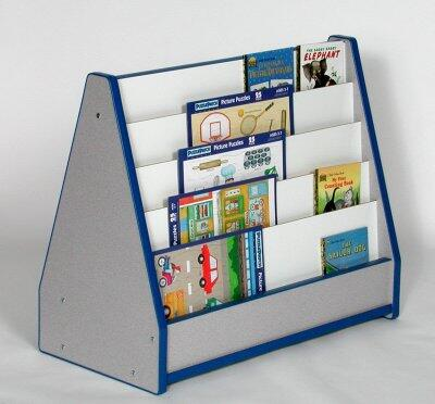 Mahar N51025BK Childrens  Wood Magazine Rack